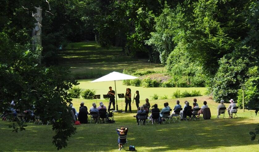 Jazz in de open lucht. Het kan op 29 augustus op Berbice. Foto: Vrienden van Berbice