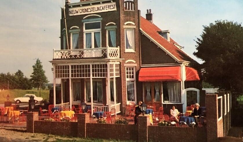 Cronesteyn in de jaren 60. De brasserie bestaat 100 jaar. Foto: pr
