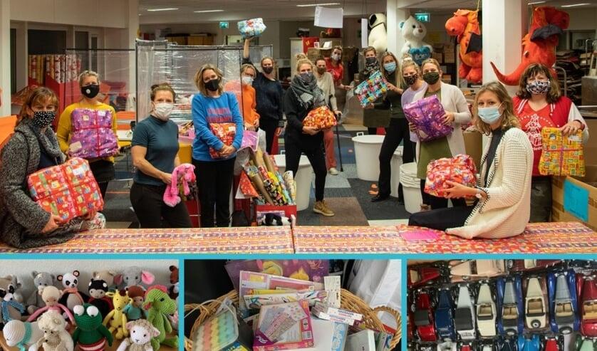 <p>De Ladies&rsquo; Circle Voorschoten kwam Sintvoorieder1 een handje helpen en mooie donaties van Voorschotense inwoners. &nbsp; Foto: PR </p>