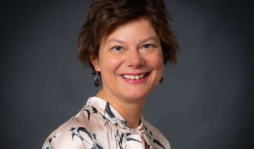 <p>Wethouder Erika Spil (Duurzaamheid) is een van de gastsprekers op het webinar. Foto: Gemeente Voorschoten</p>