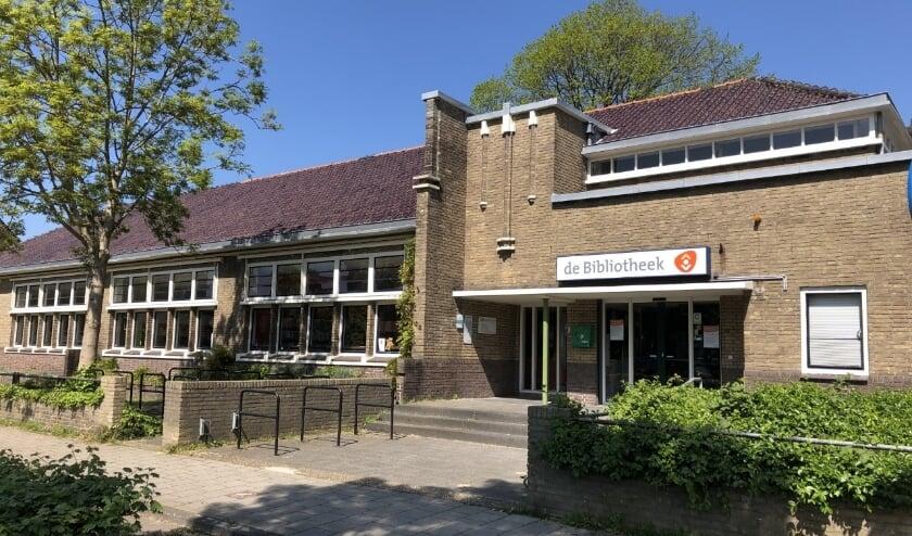 <p>De bibliotheek aan de Wijngaardenlaan wordt een multifunctionele accommodatie. Foto: VSK</p>