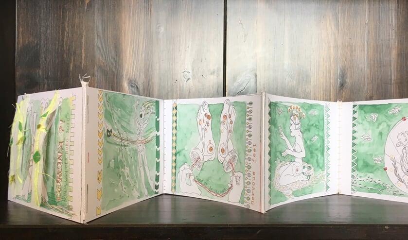 <p><em>Sonja van der Burgs Corona?! Een boekje over de onzekerheid van ziek zijn tijdens de eerste Coronagolf, toen er bij velen geen huisbezoeken mogelijk waren en huisartsen soms hun deuren sloten. (Foto: PR)</em></p>