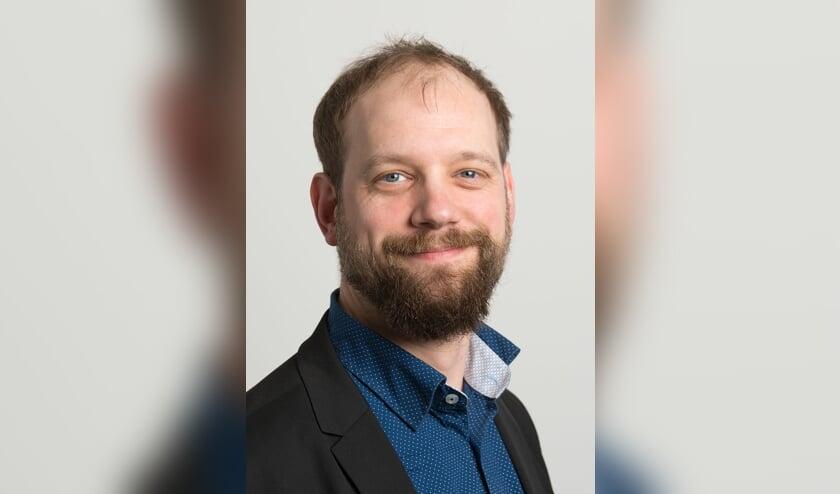 <p>SP frontman Erik Maassen. Hij is het niet eens met de brief die oppositiepartijen stuurde over het handelen van het college. Foto: SP Voorschoten</p>