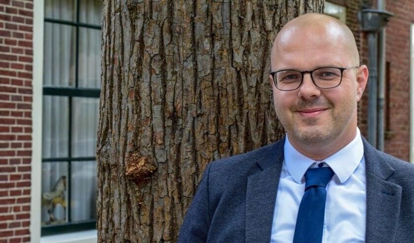 <p>GroenLinks fractievoorzitter Albert Deuzeman</p>