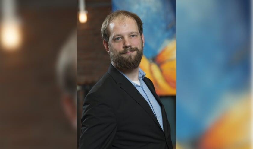 <p>SP Fractievoorzitter Erik Maassen.&nbsp;</p>