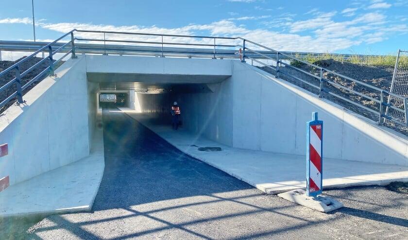 <p>Nieuwe deel van de tunnel, het tweede deel achterin in het oude deel dat wordt opgeknapt en voorzien van daglichtopeningen. </p>