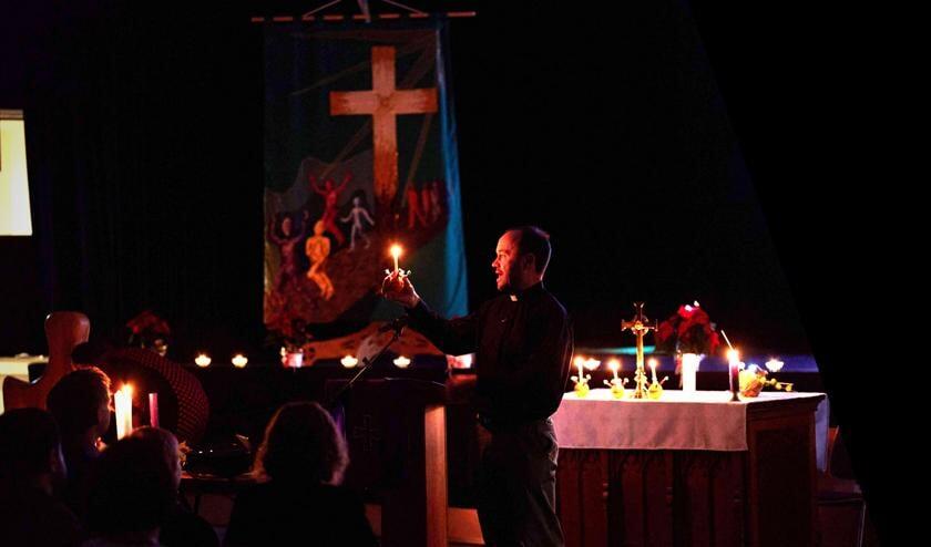 <p>Photo: a Christingle service at St James last Christmas </p>