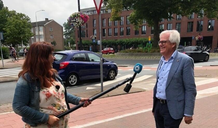 Wethouder Marcel Cramwinckel werd vandaag door Hart van Nederland geïnterviewd. Foto: VSK