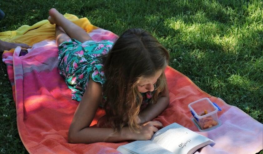 Lekker lang lezen met het zomerleesprogramma van de bibliotheek. Foto: bibliotheek Voorschoten