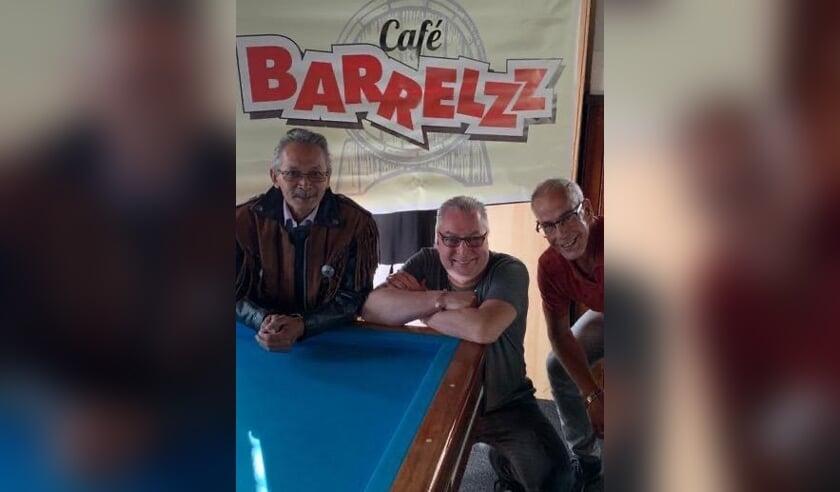 vlnr Robert Sonnevild, Rob Scholtes en Ruud de Vos vormen samen Team Barrelzz. Ze zijn kampioen in de Leidse competitie. Foto: PR
