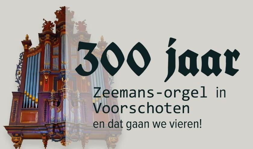 Jubileum 300 jaar Zeemans-orgel in Voorschoten.