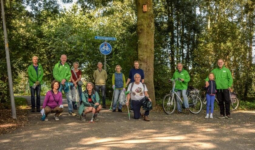 <p>Wie doet er meer met de GroenLinks Opruimactie in Noord-Hofland</p>