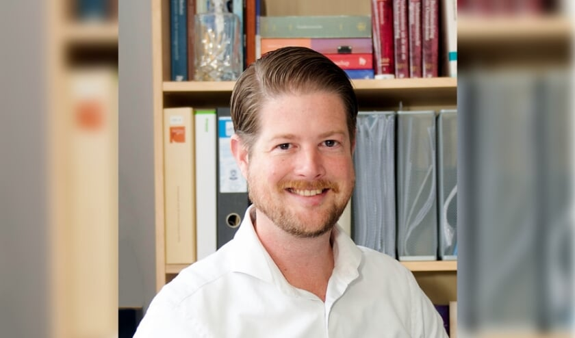 <p>VVD-raadslid Bram Reinke. Foto: VVD Voorschoten</p>