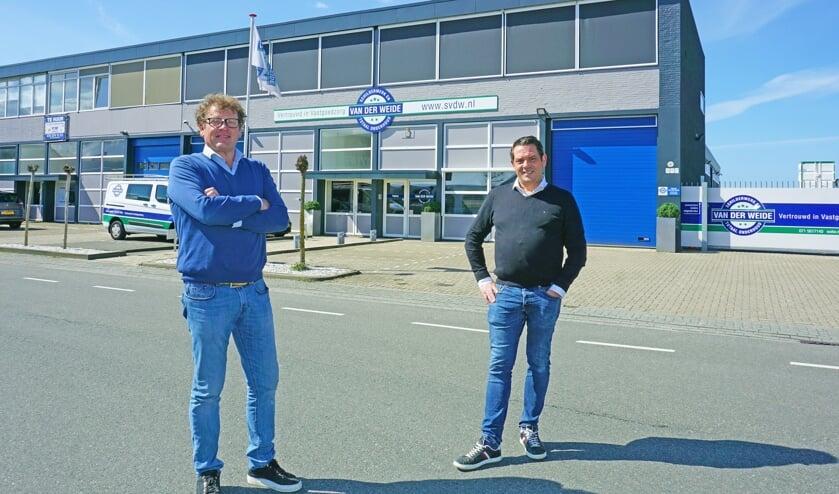 <p>Michael van Lochem (l) is samen met Wybrand Vielvoije verantwoordelijk voor Vastgoedzorg Van der Weide </p>