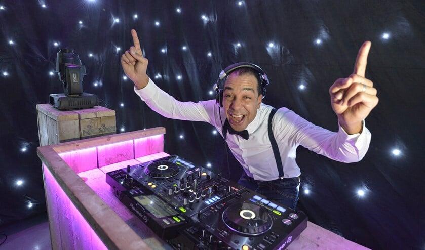 Seran van Wijk is genomineerd voor de categorie Beste bruiloft DJ. (foto: Pim Mul)