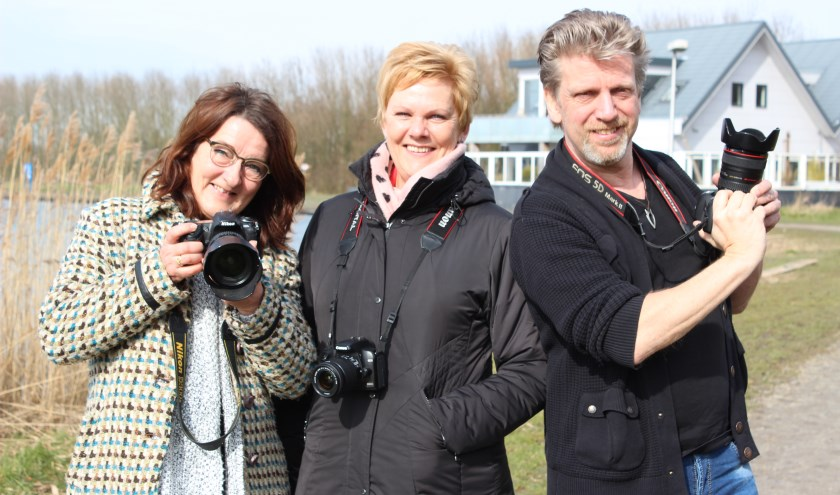 Liesbeth Bergen, Pia Legerstee en Gerard Nijboer. Foto: Martijn Mastenbroek