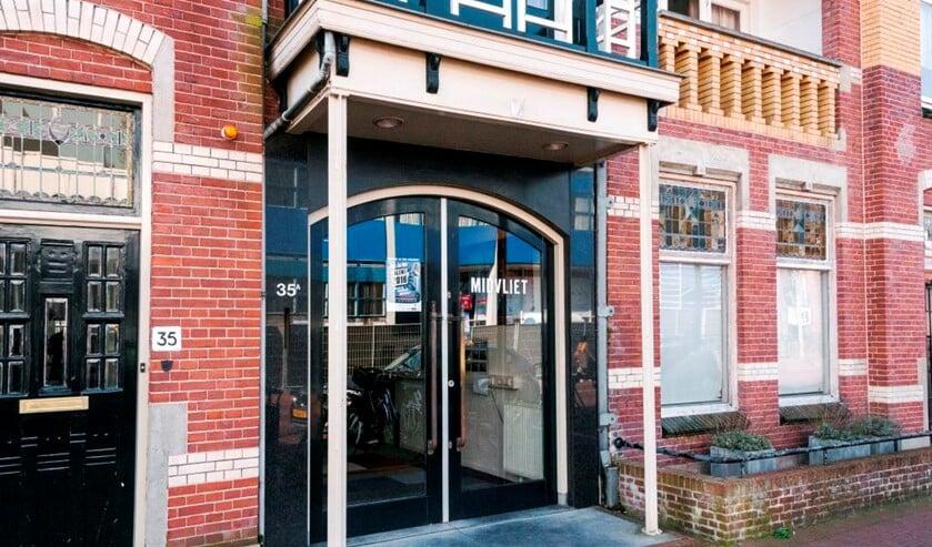 De studio van Midvliet FM en TV aan de Damlaan in Leidschendam (foto: PR).