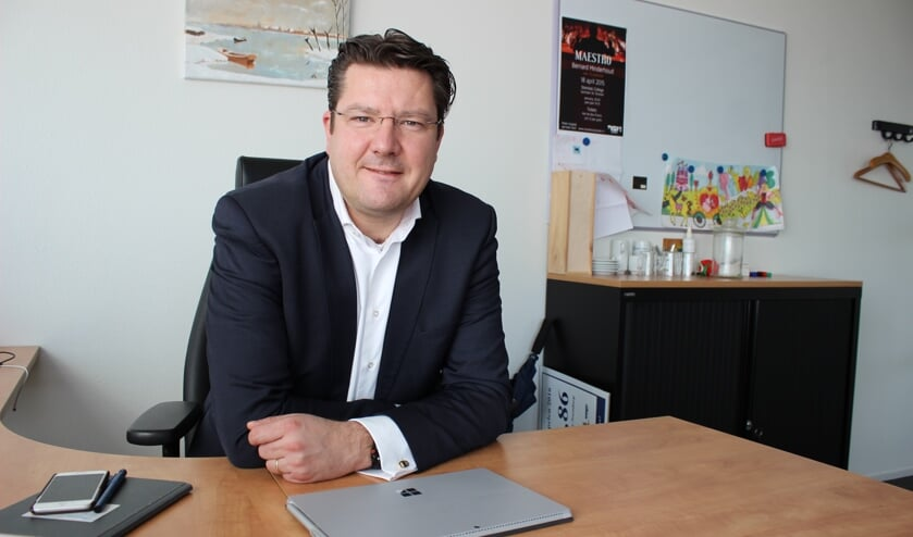 <p>Bernard Minderhoud van GemeenteBelangen Pijnacker-Nootdorp.</p>
