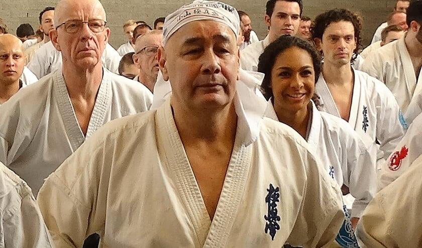 <p>Shihan Ruud Muller van de Leidschendamse karateclub is trots op zijn leerlingen (archieffoto).&nbsp;</p>