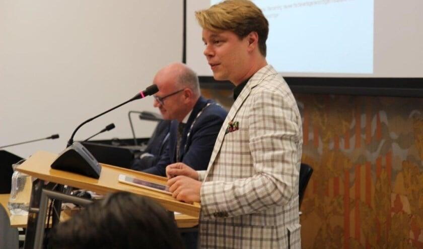 Jeroen van Rossum: 'verder dan futloze lapmiddelen is het college niet gekomen.' (Foto: Ap de Heus)