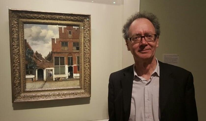 """Prof. dr. Frans Grijzenhout bij """"het straatje""""."""