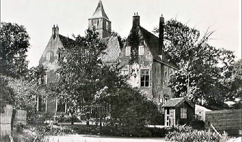 Kasteel De Binckhorst, toen nog in Voorburg, in 1890 (archieffoto).