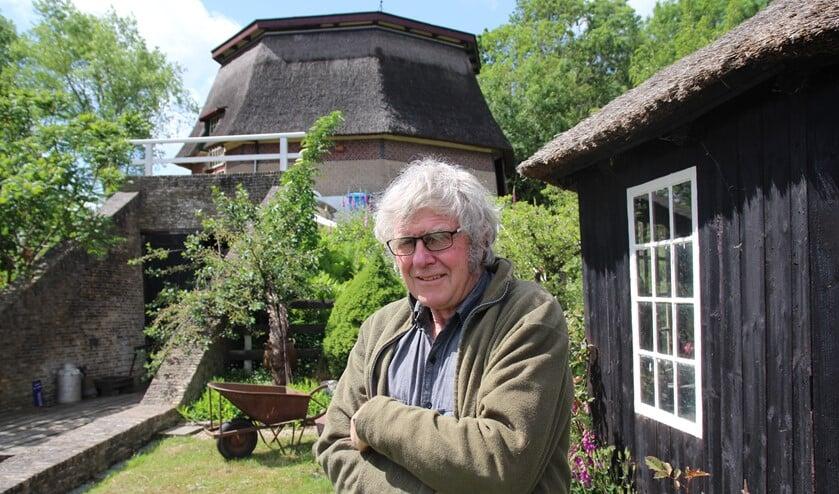 Jan de Bruyn probeert al heel lang de molen van Delfgauw en de directe omgeving ervan te koesteren en intact te laten.