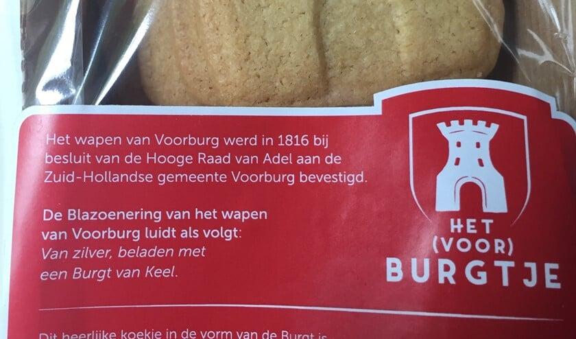 Ter gelegenheid van het 60-jarig bestaan vroeg Mooi Voorburg Bakker Klink koekjes te bakken in de vorm van het wapen van Voorburg.