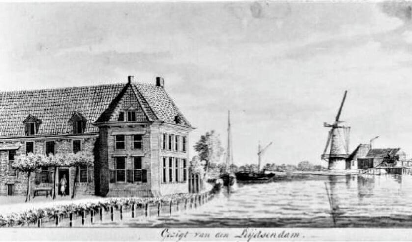 'Zicht op Leidschendam 1784'.