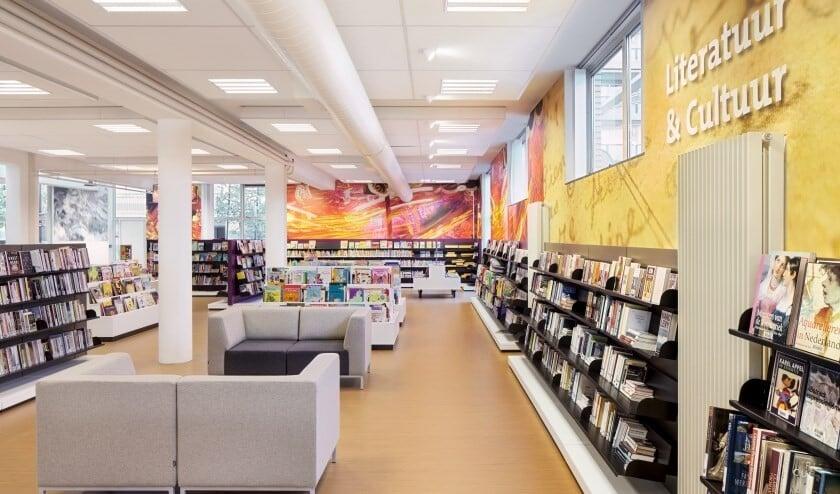 Bibliotheek Fluitpolderplein blijft voorlopig nog open (archieffoto DJ).