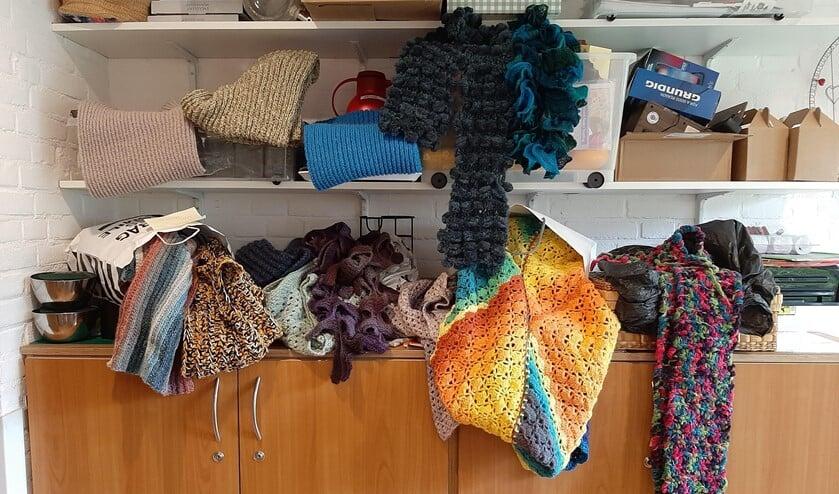 <p>Veenhage heeft al heel wat warme shawls gekregen.</p>