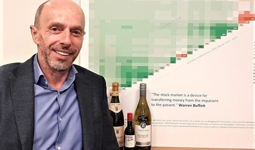 <p>Financieel planner Harry van Houdt.</p>