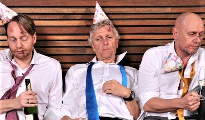 <p>Maarten, Arend &eacute;n Erik brengen met liefde een avond vol lust en leed uit al hun 14 shows (foto: pr).</p>