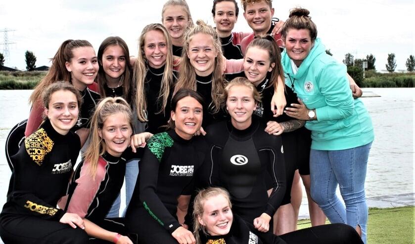 <p>Watersportuitje Forum Sport Vrouwen eind vorig seizoen (foto: Evdl).</p>