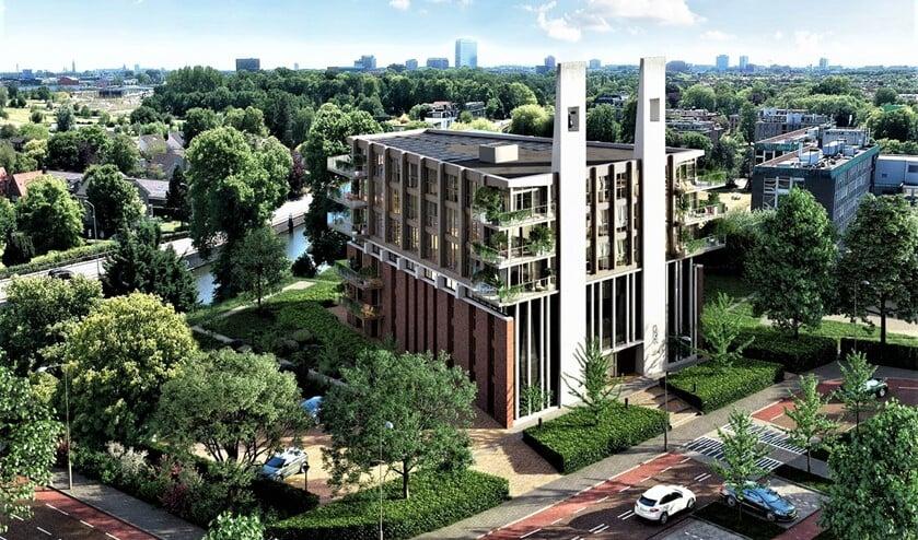 <p>Impressie van hoe het nieuwe gebouw Fonteinkerk eruit komt te zien (foto: pr).</p>