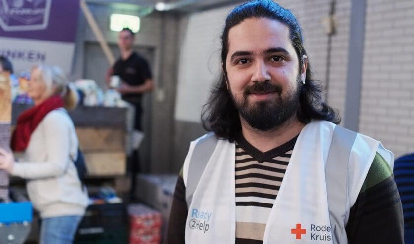 Ready 2 Help ingezet bij klaarmaken voedselpaketten Voedselbank (foto: Peter Busscher).