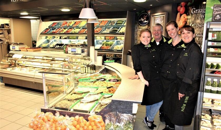 Het team van Van Rijn Culinair (archieffoto Dick Janssen).