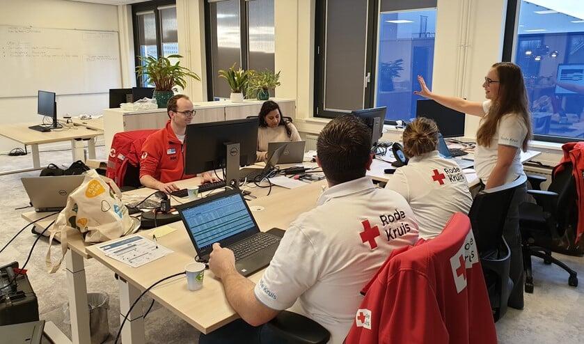 Het District Actie Centrum van het Rode Kruis Den Haag e.o. aan de Zilverstraat 2 (foto: pr Rode Kruis).