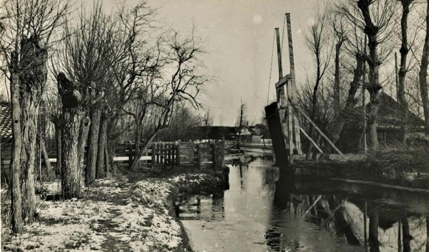 Broeksloot nabij Westerloo circa 1920.