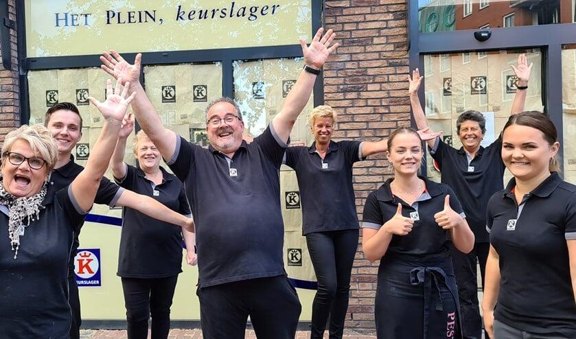 Het team van Keurslager Pestel kan niet wachten om nieuwe klanten te verwelkomen.