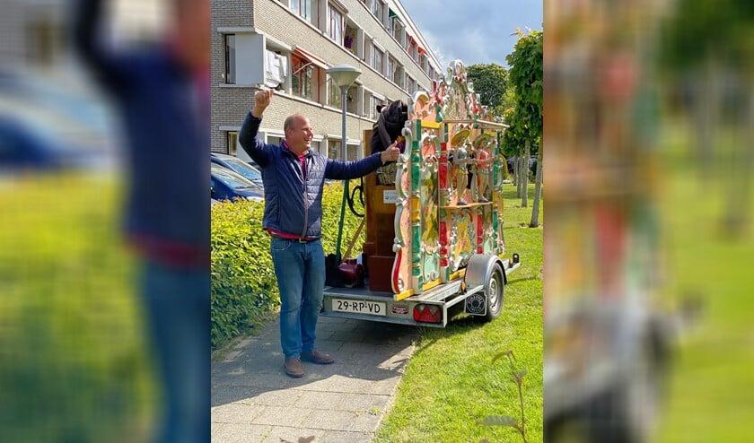 Hiddo van Os uit Hazerswoude maakte er een groot feest van.