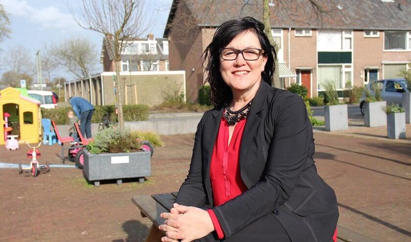 Wethouder Hanneke van de Gevel.