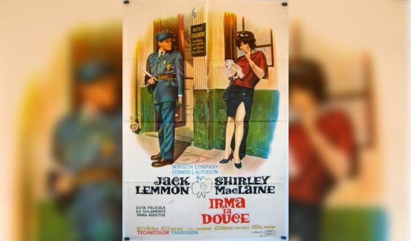 Jack Lemmon speelt Nestor, een voormalige politieman die verliefd wordt op prostituee Irma la Douce (Shirley MacLaine).