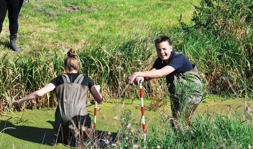 Uitdagende en leuke lessen van Wellant Westvliet op Buitenplaats Molenwei met na afloop slootje springen (foto: pr Wellant Westvliet).