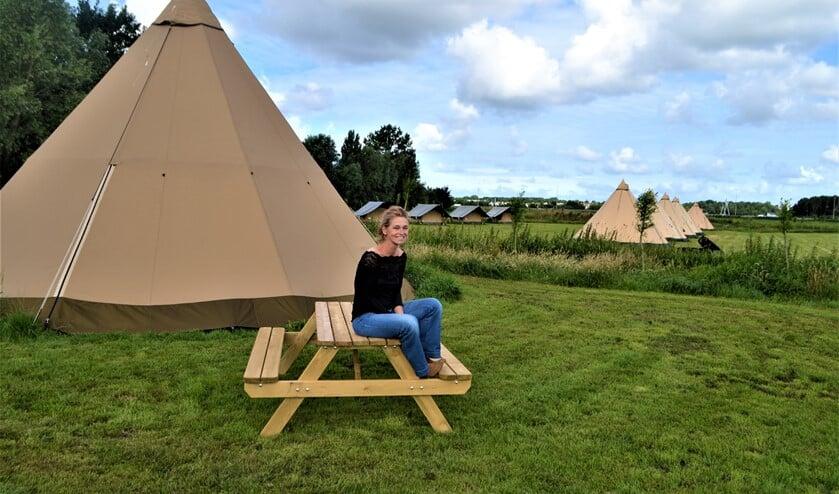 Vicky van der Krogt op Buitenplaats Molenwei (foto: pr).