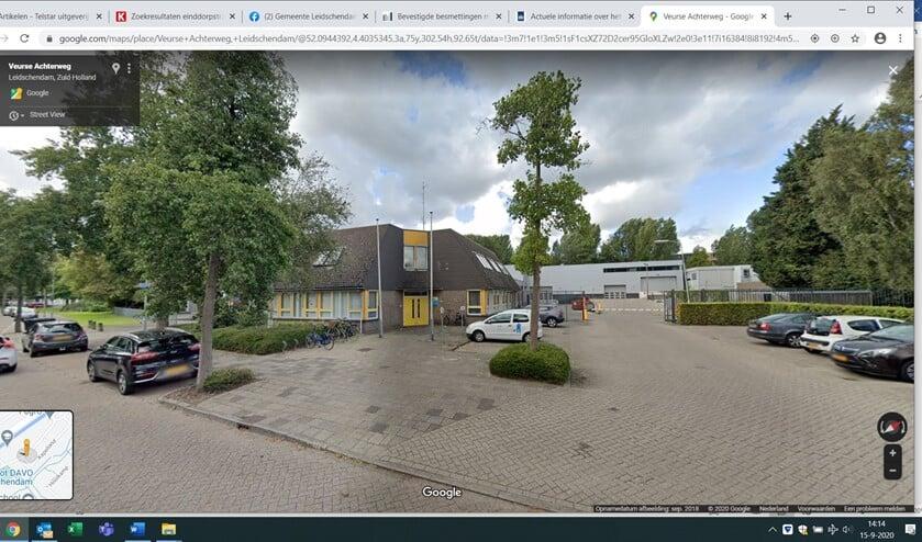 De huidige locatie van de gemeente aan de Veurse Achterweg (foto: Google Streetview).