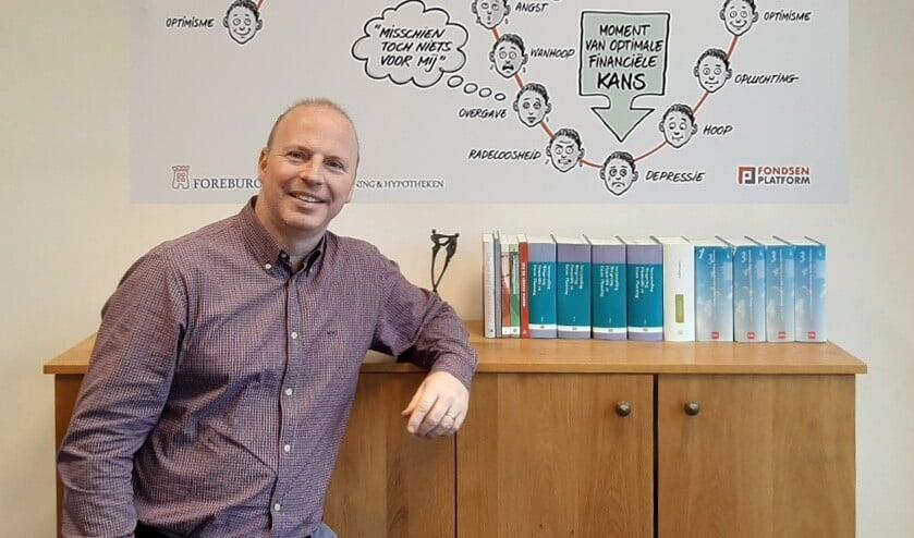 <p>Financieel planner Pieter Oorlog van Foreburgh Financi&euml;le Planning.</p>