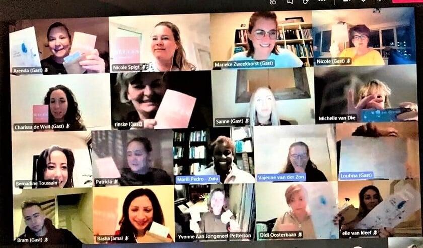 <p>In deze tijden is (bijna) alles online, dus ook de startbijeenkomst van deze nieuwe opleiding (foto: Vlietkinderen).</p>