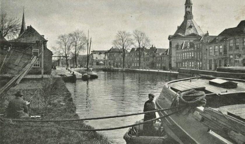 <p>Zicht op Leidschendam in 1920 (foto C. Steenbergh).</p>
