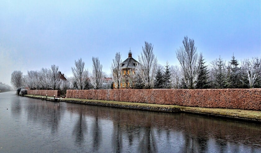 <p>Huygens&#39; Hofwijck in de winter (foto: Charles Groeneveld).</p>